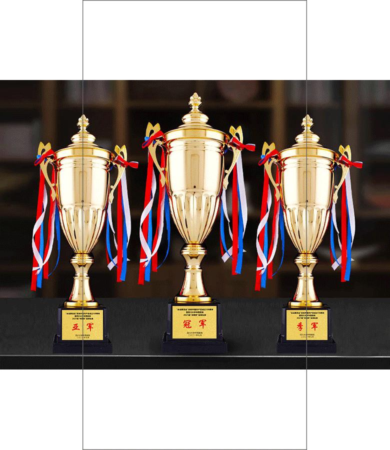 诺格精艺高端奖牌定制-运动体育赛事足球奖杯定制