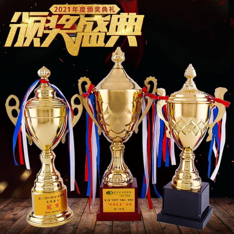 诺格精艺体育赛事金属大奖杯表彰-成都运动赛事大奖杯定制