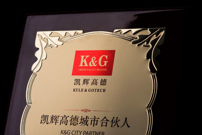诺格精艺进口奖牌金色花丛纹反光效果-成都高端奖牌定制