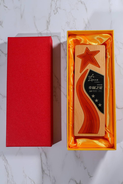 诺格精艺成都实木水晶奖杯定制-奖杯礼盒内衬